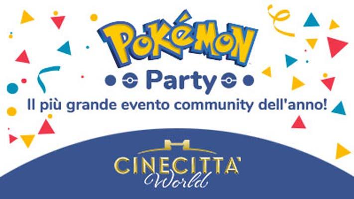 Pokemon Party A Cinecitta World Cinecitta World